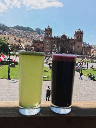 Cusco Chicha Morada Plaza De Armas Cusco Cusco, Peru Architecture Built Structure Building Exterior Nature Day