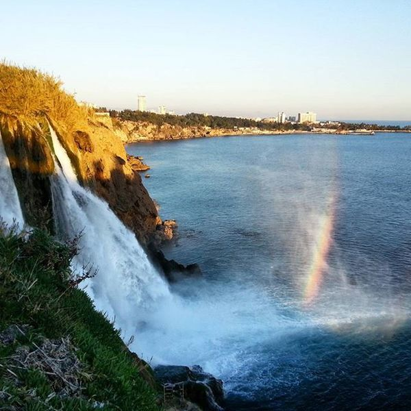 Turkey Antalya Lara Today Rainbow VSCO Selfies Self Likealways Followme Likealways Likeforlike Like4like Instagood JustMe Waterfall Rocks Relax Instalike Igers Instacool Instagood Eyes Amazing
