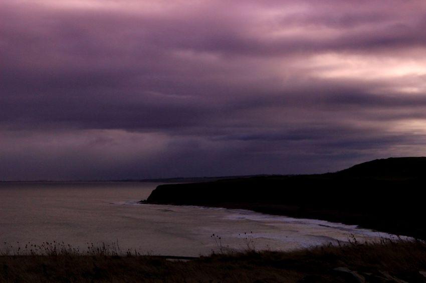 Atmospheric Mood Beach Beauty In Nature Cloud - Sky Cloudscape Coastline Landscape Nature Sea Seaham Blast Beach