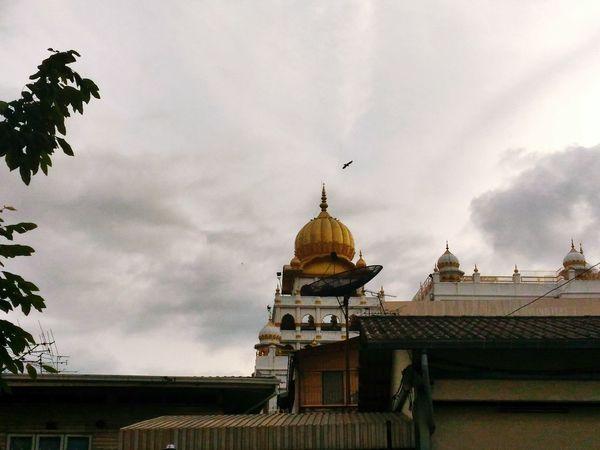 Sikh Temple Sikh City Sky
