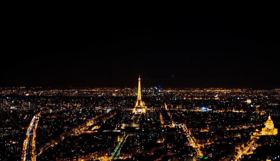 Architecture Building Exterior Built Structure City Cityscape France Illuminated Night No People Outdoors Paris Travel Destinations