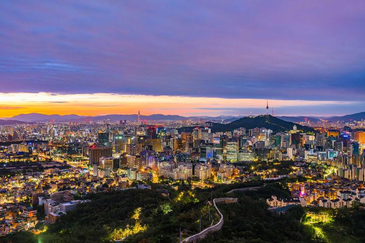 Seoul City at