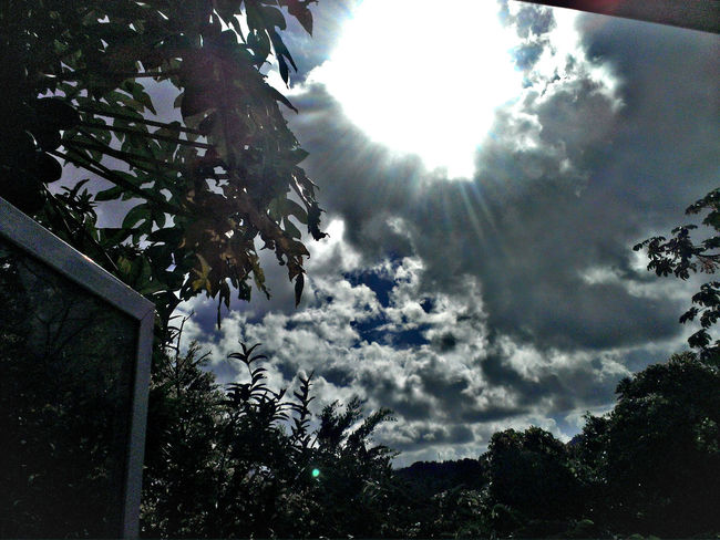Outside my bedroom window Window View Sky Nature Cloud - Sky Caribbean Life 758 Saint Lucia Beauty In Nature Outdoors
