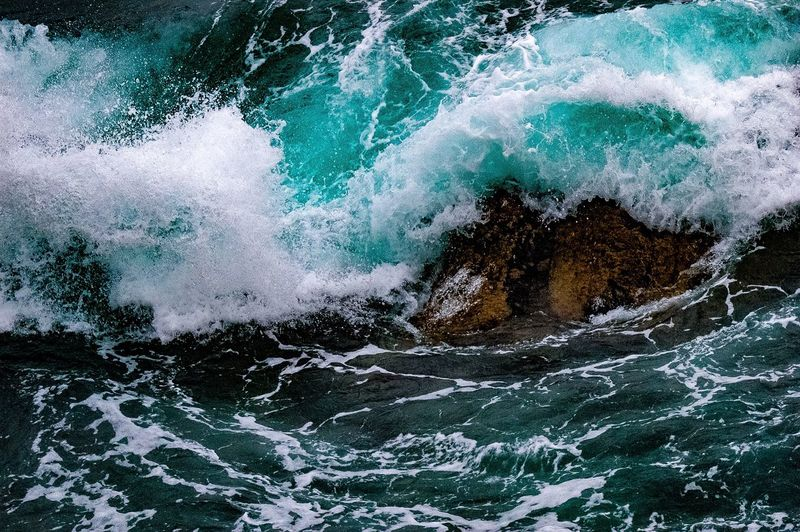 Ocean Wave Sea Motion Power In Nature Nature Force Beauty In Nature Seascape Photography SeaScapePhotography Nature_collection Nature Photography Blueocean First Eyeem Photo Ocean Photography Ocean Waves Waves, Ocean, Nature Waves Crashing Wave Splash Waves Rolling In Waves Crashing On Rocks Perspectives On Nature