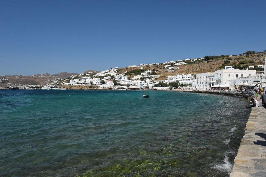 Aegean Aegean Islands Aegean Sea Blauer Himmel Blaues Meer Blaues Wasser Blue Sea Blue Sky Greece GREECE ♥♥ Hafen Harbor Hellas Kykladen Kyklades Meer Mykonos Mykonos,Greece Sky Wasser Water ägaisches Meer ägäis ägäische Inseln