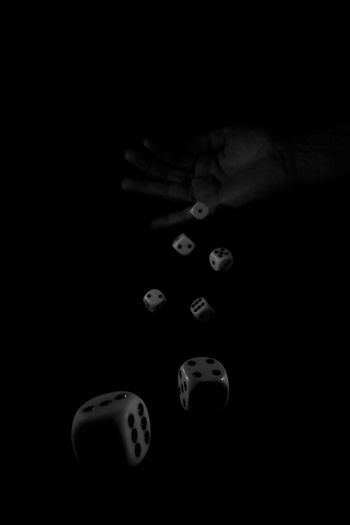 alea iacta est - the die is cast Abstract Abstract Art Abstract Photography Black And White Black Background Close-up Details Dice EyeEm Best Shots EyeEm Gallery Gambling Game Of Chance Highspeed Highspeed Photography Highspeedphotography Indoors  Light And Shadow Macro Macro_collection Monochrome Monochrome _ Collection Monochrome Photography Welcome To Black