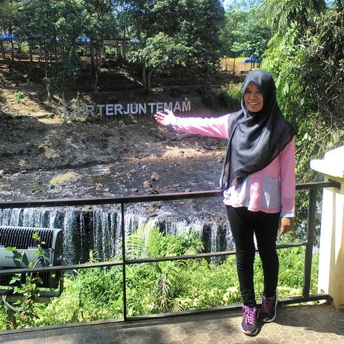 Thanks for this moment. PorprovX Lubuklinggau Sumsel 2015  Airterjuntemam Waterfall Refreshing After That's Me