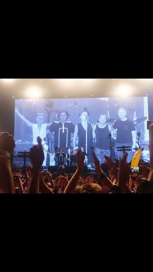 Msf Summertime Festival Depeche Mode Nightphotography Concert Night Illuminated Lighting Equipment Group Of People Event Music Performance Stage Light