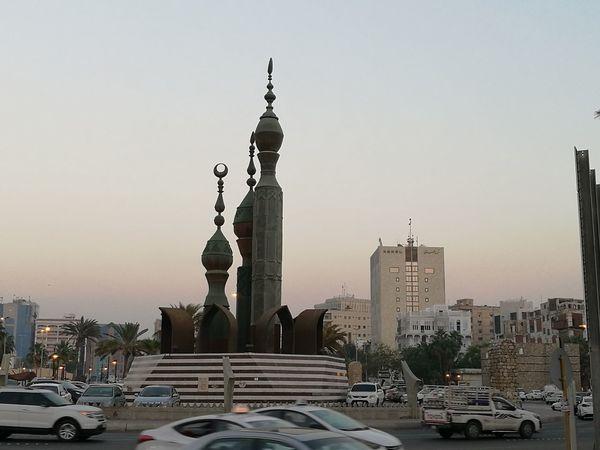 Allegiance field Historical Center Jeddah City KSA