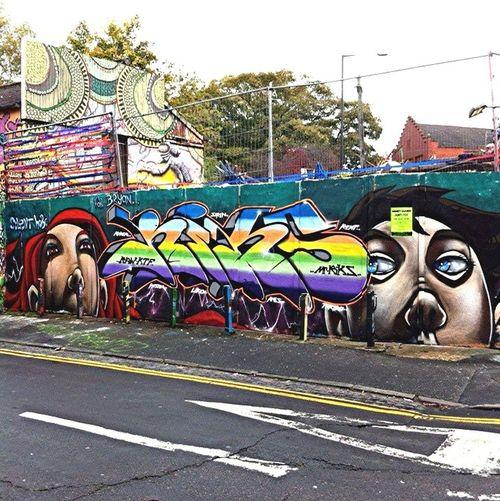 Graffiti Streetart Silenthobo MrRiks