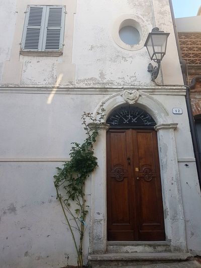 Architecture Built Structure Window Day Building Exterior No People Outdoors Textures And Surfaces Old Window Old House Old Door Langhe Italy Alta Langa