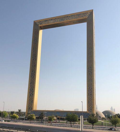 Dubai's frame