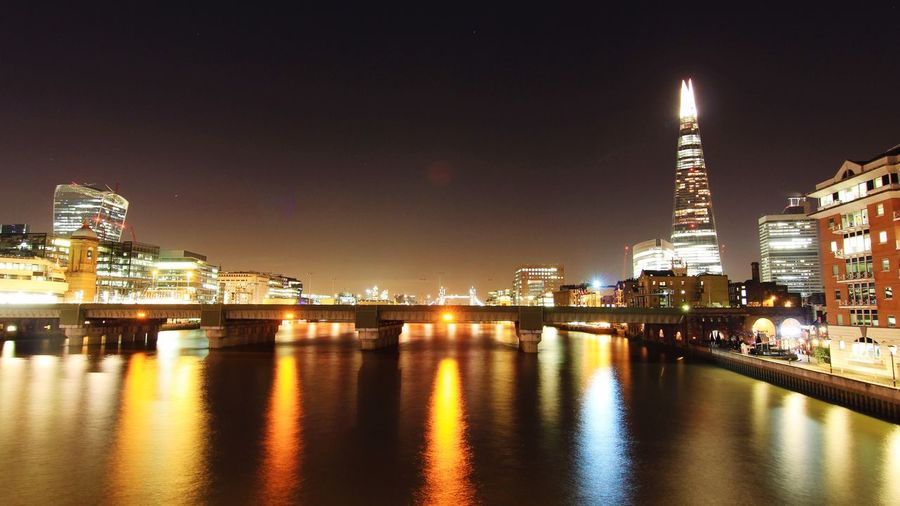 Shard and the river Check This Out London The Shard Long Exposure Enjoying Life