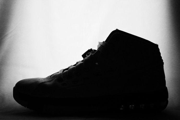 Black & White Silhouette Shoes B&w