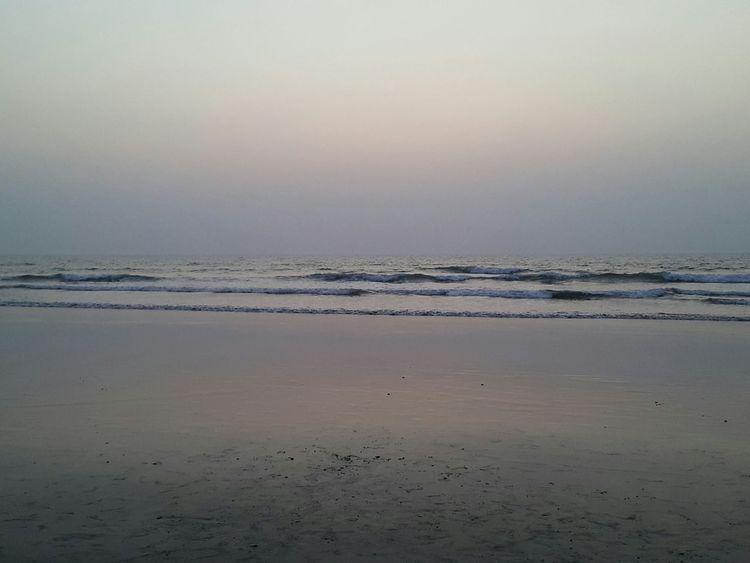 Outdoors Seaside Sunset Peaceful Peace And Quiet Simplicity Arambol Beach South India Goa