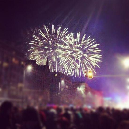 2012/2013 New Year Warshawa Fireworks