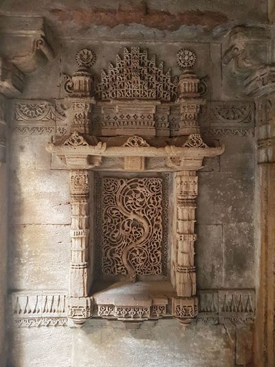 Carving - Craft Product Architecture History Built Structure Ancient Civilization Indoors  Ancient Travel Destinations Day No People Close-up Bas Relief Architecture Adalajstepwell Adalaj Mumbai India Travel EyeEmNewHere Tranquility Connected By Travel