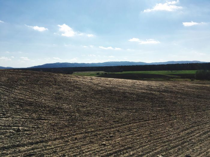 Field Landscape Agriculture Outdoors Poland Nature Mountaino Mountains