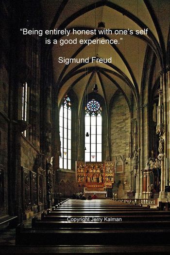 A #Freudian #quip and #StStephens church in his hometown, #Vienna. If this #quotograph speaks to you, please share with others Cathedral Freud Q Quotograph Quotography Saint Stephan Saint Stephen Basilica Vienna