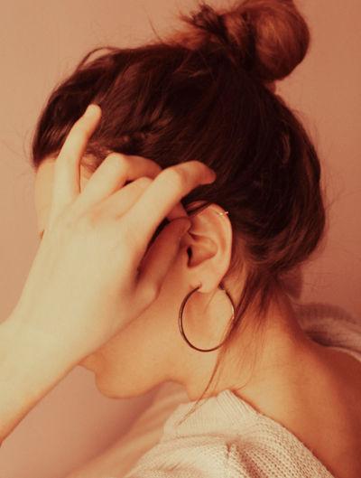 Young Women Women Human Hand Headshot Redhead Archival Close-up