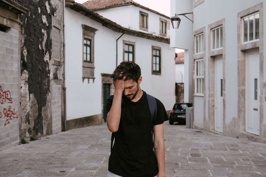 Oh Maaan. Man The Portraitist - 2017 EyeEm Awards The Week On EyeEm Architecture Boy Building Exterior Built Structure City Day Front View Lifestyles Men One Person Outdoors Portrait Portraiture Real People Standing Young Adult Young Men Connected By Travel