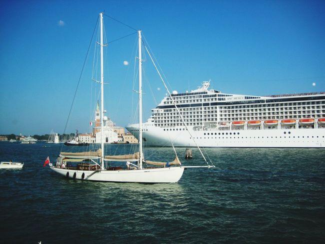 Gran Canal Ship And Boat Water Yacht Sailboat Blue Tall Ship Passenger Ship Cruise Ship