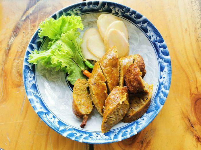 Plate Seafood