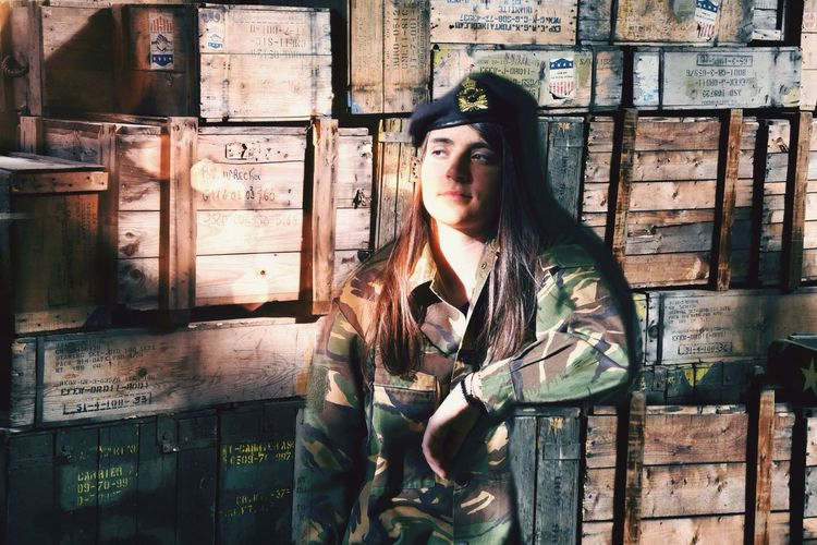 Warzone Photography Cargo Wood Box Shipment Artillery Desert Military Going The Distance Duty Woman Portrait Duty Capture The Moment Soldier Field Protection Defence Soldier Respect
