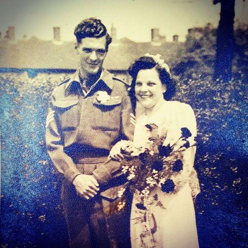 Grandma & Grandad Harrison Phillip Cynthia Harrison
