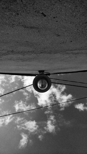 EyeEm Best Shots EyeEmNewHere Blackandwhite The Week on EyeEm Old Hause Cable Reflection Sky Telephone Line