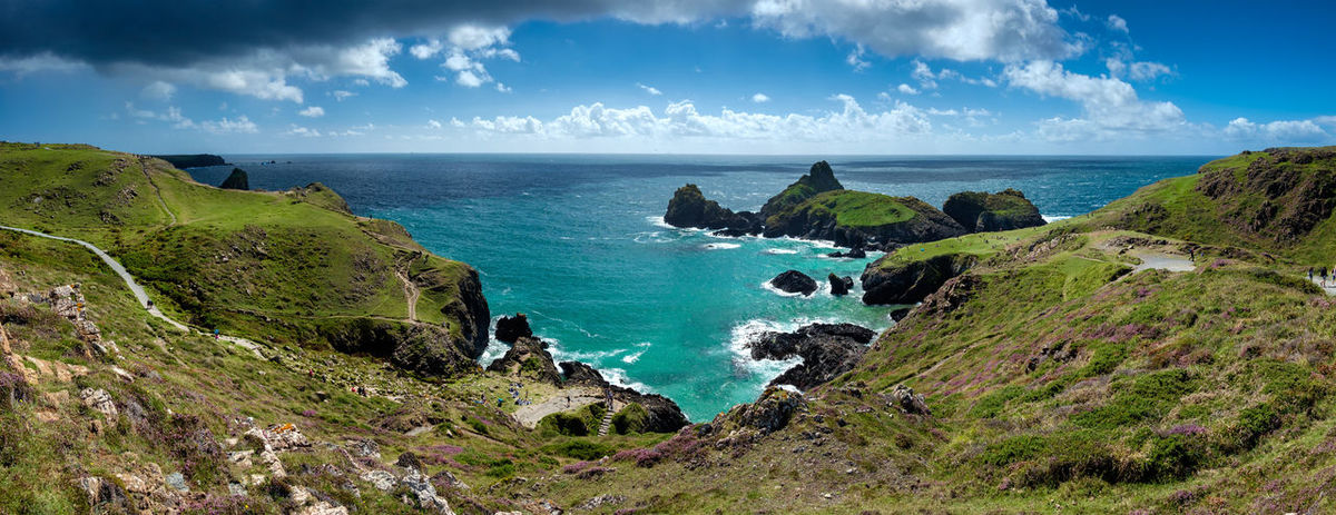 Cornwall Coast Cornwall Life Cornwall Tourism Nature Photography Beauty In Nature Blue Cliff Cloud - Sky Cornwall Uk Day Horizon Over Water Idyllic Nature Outdoors Panoramic Rock - Object Scenics Sea Sky Tranquil Scene Tranquility Water