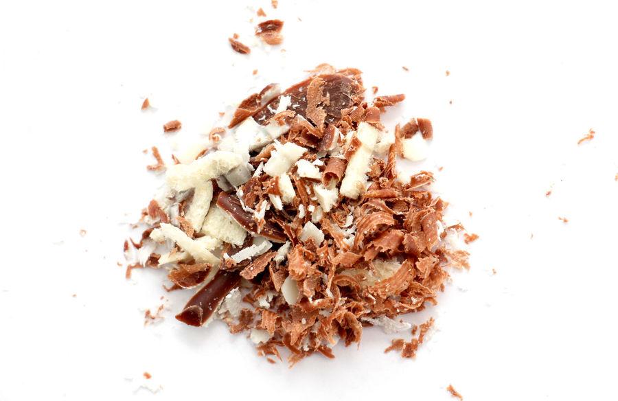 blck and whiteh coholate Black Chocolate Chocolate♡ Close-up Indulgence No People Peel Studio Shot Sweet Food Waffle White Background White Chocolate