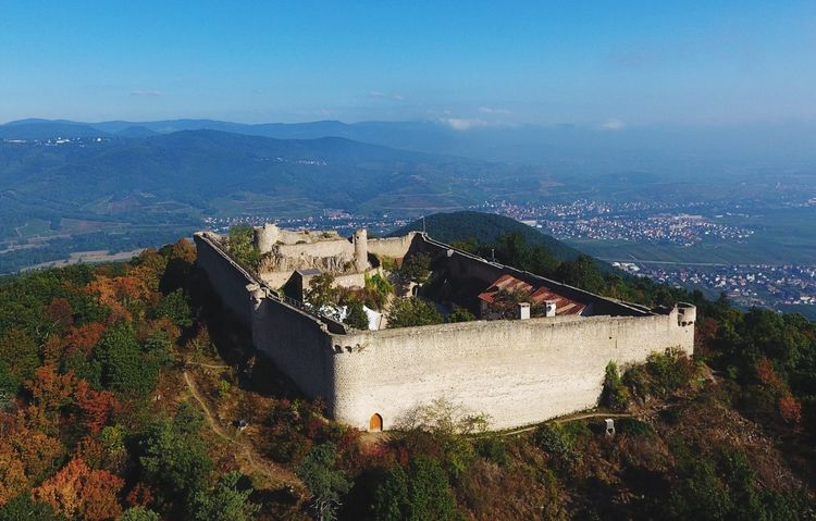 Architecture Mountain Building Exterior High Angle View Mountain Range Sky A Bird's Eye View Aerial View The Great Outdoors - 2017 EyeEm Awards