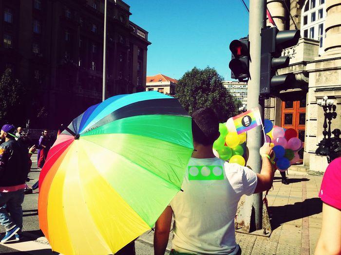 Rainbow Belgrade Pride2014 Love
