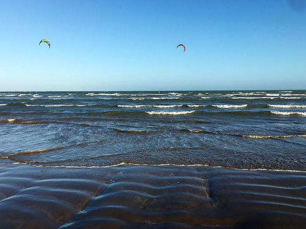 Sunlight Sea Beach Beauty In Nature Horizon Over Water Adventure Nature Clear Sky Water Extreme Sports Scenics Outdoors Wave Tranquility Sport Kiteboarding Day Real People Caribbean Caribbean Sea Sommergefühle Kitesurfing Beauty In Nature Kitesurf