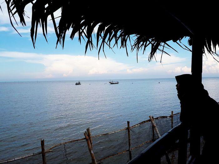 sea - you - soon Water Sea Tree Nautical Vessel Beach Silhouette Sky Horizon Over Water Landscape Seascape Coast Ocean EyeEmNewHere