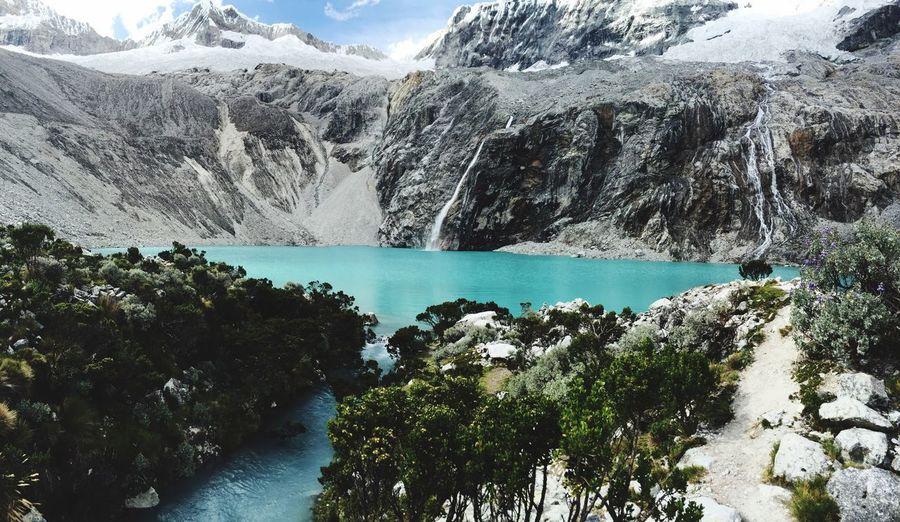 Lake Laguna 69, Peru Nature Lake