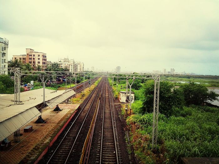 Train Public Transportation IPhoneography Rail Road Tracks
