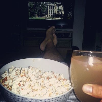 Margarita popcorn and a horror movie, what a great way to end my crazy day Lovelife Fun Sillymexican Movietime