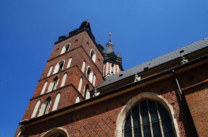 2007 Church Poland Architecture Blue Building Exterior Built Structure Clear Sky Day Krakow Low Angle View No People Outdoors Sky