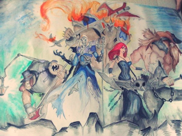 Painting League Of Legends Do You Like It? ツ