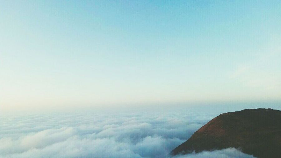 A journey to the end of the world..looks like it.. Mountain View Sky And Clouds First Eyeem Photo