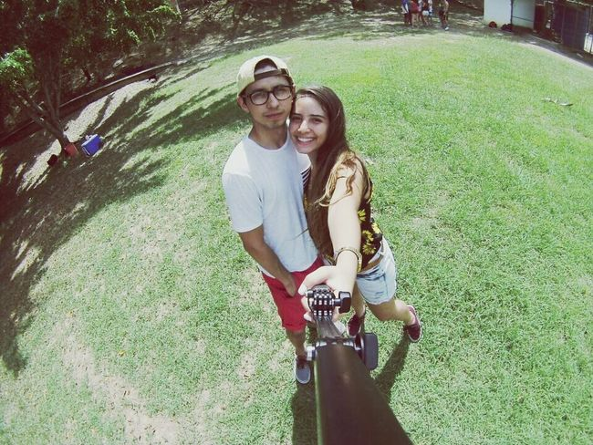 Gopro Smile Happy Hanging Out