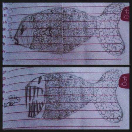 Fish Cute Pets Drawing Teeth
