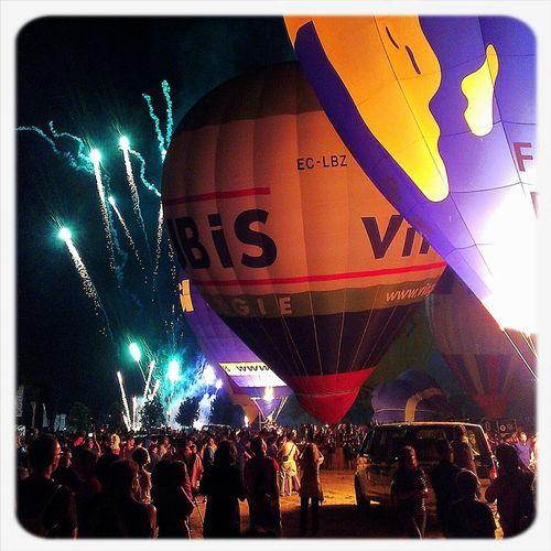 Night Enjoying Life Streetphotography Hot Air Balloons