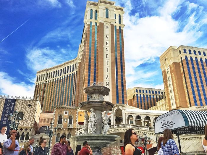 [ The Tourist ] Skyline Architecture_collection Architectural Detail Buildings POV From My Point Of View Streetphotography Outdoor Photography Buildings & Sky Travel Destinations Travel Photography Wanderlust IPhoneography Landscape_photography The Venetian Las Vegas People Walking  People Photography Cloudporn Sky Porn Travelgram Tourist Attraction  Tourist Tourism Outdoor