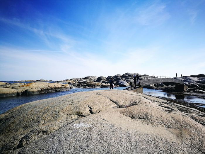 Land's End, Norway. +norway +landsend Water Sea Beach Sand Protection Sky Horizon Over Water