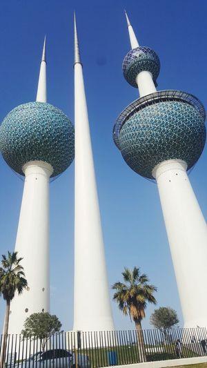 Winter in Kuwait Kuwait Towers Architecture First Eyeem Photo EyeEmNewHere EyeEmNewHere