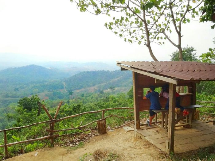 RePicture Travel Nature Enjoying Life Mountains Thailand Trees View From Above Holiday