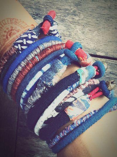 Textile Jewellery กำไลข้อมือ
